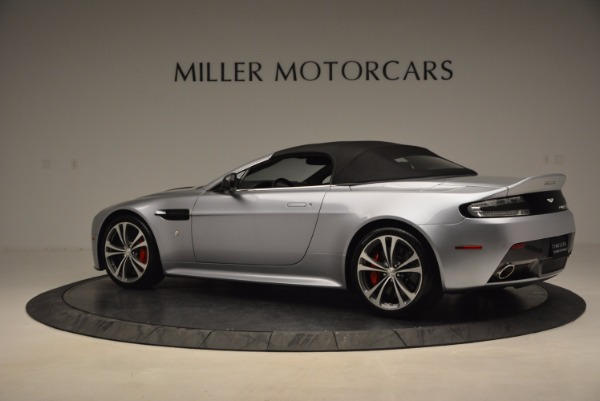 Used 2015 Aston Martin V12 Vantage S Roadster for sale Sold at Rolls-Royce Motor Cars Greenwich in Greenwich CT 06830 16
