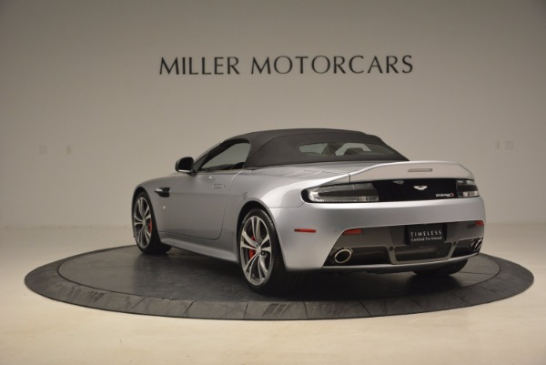Used 2015 Aston Martin V12 Vantage S Roadster for sale Sold at Rolls-Royce Motor Cars Greenwich in Greenwich CT 06830 17
