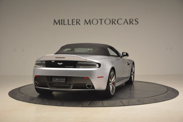 Used 2015 Aston Martin V12 Vantage S Roadster for sale Sold at Rolls-Royce Motor Cars Greenwich in Greenwich CT 06830 19