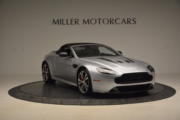 Used 2015 Aston Martin V12 Vantage S Roadster for sale Sold at Rolls-Royce Motor Cars Greenwich in Greenwich CT 06830 23