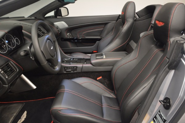 Used 2015 Aston Martin V12 Vantage S Roadster for sale Sold at Rolls-Royce Motor Cars Greenwich in Greenwich CT 06830 24
