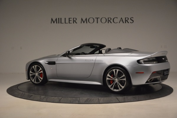 Used 2015 Aston Martin V12 Vantage S Roadster for sale Sold at Rolls-Royce Motor Cars Greenwich in Greenwich CT 06830 4