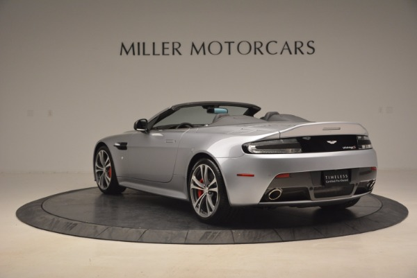 Used 2015 Aston Martin V12 Vantage S Roadster for sale Sold at Rolls-Royce Motor Cars Greenwich in Greenwich CT 06830 5