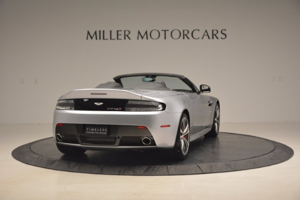 Used 2015 Aston Martin V12 Vantage S Roadster for sale Sold at Rolls-Royce Motor Cars Greenwich in Greenwich CT 06830 7