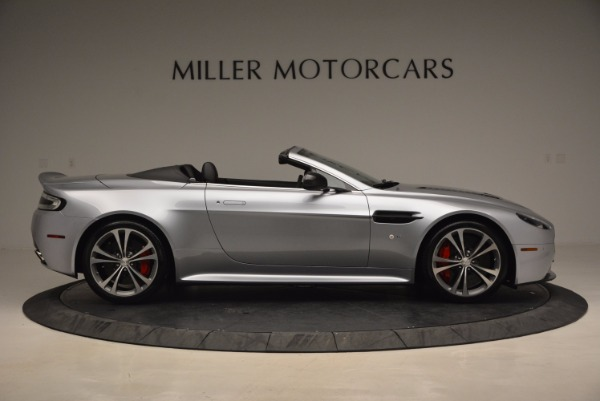 Used 2015 Aston Martin V12 Vantage S Roadster for sale Sold at Rolls-Royce Motor Cars Greenwich in Greenwich CT 06830 9