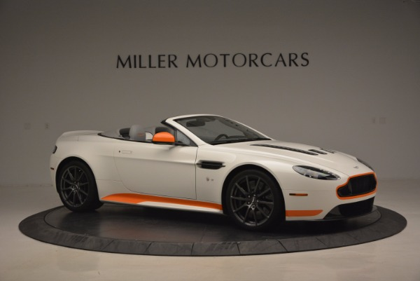 Used 2017 Aston Martin V12 Vantage S Convertible for sale Sold at Rolls-Royce Motor Cars Greenwich in Greenwich CT 06830 10