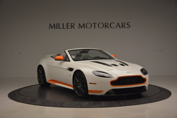 Used 2017 Aston Martin V12 Vantage S Convertible for sale Sold at Rolls-Royce Motor Cars Greenwich in Greenwich CT 06830 11