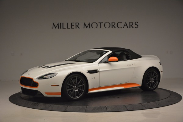 Used 2017 Aston Martin V12 Vantage S Convertible for sale Sold at Rolls-Royce Motor Cars Greenwich in Greenwich CT 06830 14