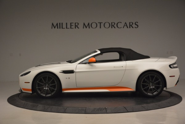 Used 2017 Aston Martin V12 Vantage S Convertible for sale Sold at Rolls-Royce Motor Cars Greenwich in Greenwich CT 06830 15