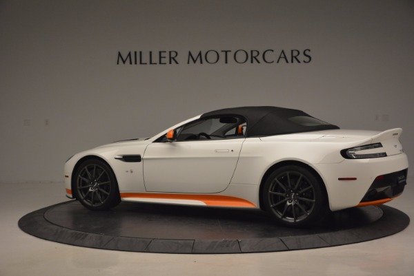Used 2017 Aston Martin V12 Vantage S Convertible for sale Sold at Rolls-Royce Motor Cars Greenwich in Greenwich CT 06830 16