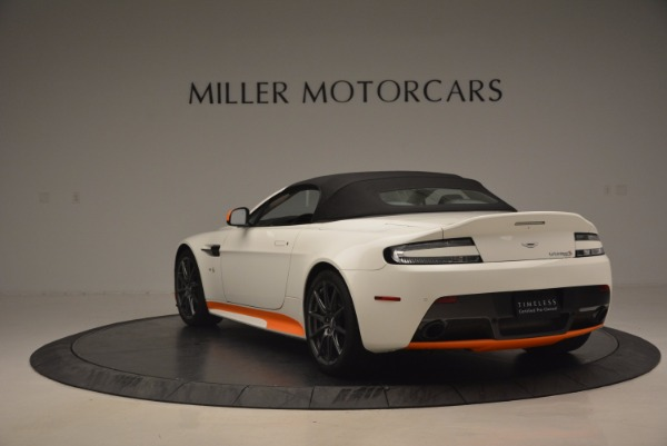 Used 2017 Aston Martin V12 Vantage S Convertible for sale Sold at Rolls-Royce Motor Cars Greenwich in Greenwich CT 06830 17