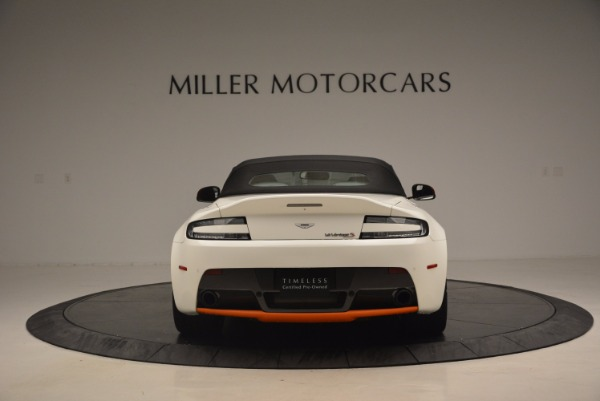 Used 2017 Aston Martin V12 Vantage S Convertible for sale Sold at Rolls-Royce Motor Cars Greenwich in Greenwich CT 06830 18