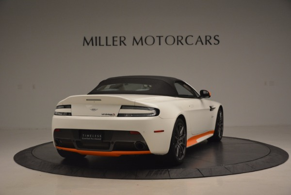 Used 2017 Aston Martin V12 Vantage S Convertible for sale Sold at Rolls-Royce Motor Cars Greenwich in Greenwich CT 06830 19
