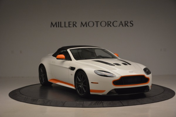 Used 2017 Aston Martin V12 Vantage S Convertible for sale Sold at Rolls-Royce Motor Cars Greenwich in Greenwich CT 06830 23