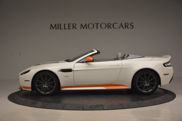 Used 2017 Aston Martin V12 Vantage S Convertible for sale Sold at Rolls-Royce Motor Cars Greenwich in Greenwich CT 06830 3