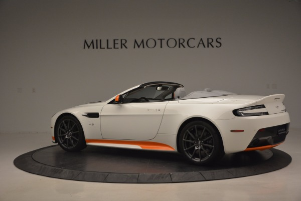 Used 2017 Aston Martin V12 Vantage S Convertible for sale Sold at Rolls-Royce Motor Cars Greenwich in Greenwich CT 06830 4