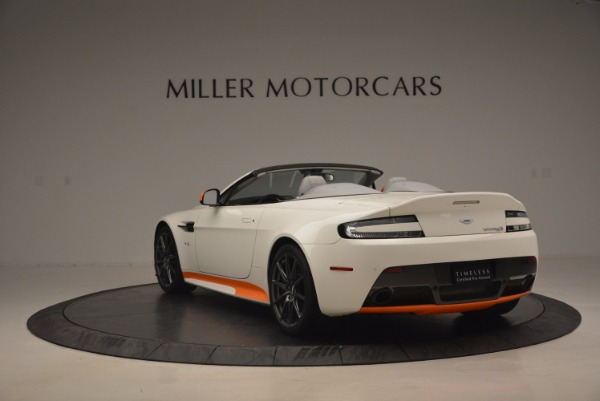 Used 2017 Aston Martin V12 Vantage S Convertible for sale Sold at Rolls-Royce Motor Cars Greenwich in Greenwich CT 06830 5