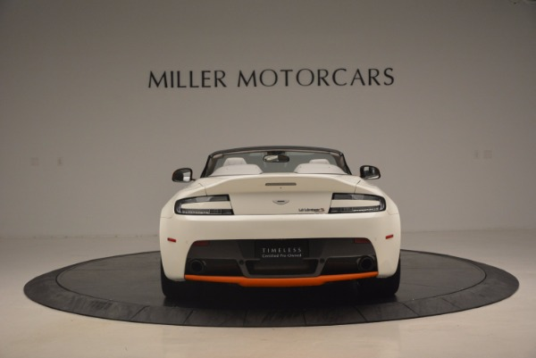 Used 2017 Aston Martin V12 Vantage S Convertible for sale Sold at Rolls-Royce Motor Cars Greenwich in Greenwich CT 06830 6