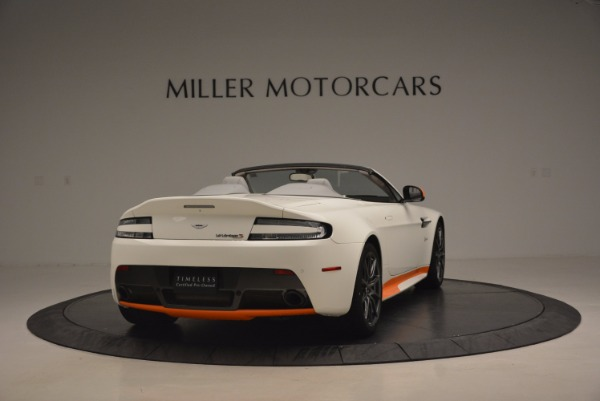 Used 2017 Aston Martin V12 Vantage S Convertible for sale Sold at Rolls-Royce Motor Cars Greenwich in Greenwich CT 06830 7