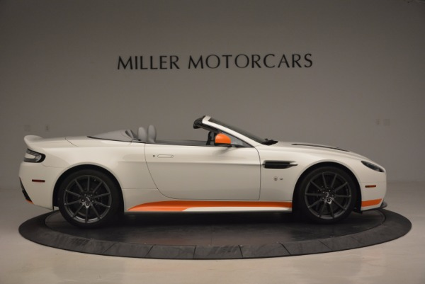 Used 2017 Aston Martin V12 Vantage S Convertible for sale Sold at Rolls-Royce Motor Cars Greenwich in Greenwich CT 06830 9