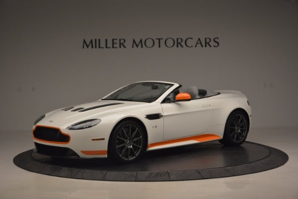 Used 2017 Aston Martin V12 Vantage S Convertible for sale Sold at Rolls-Royce Motor Cars Greenwich in Greenwich CT 06830 1