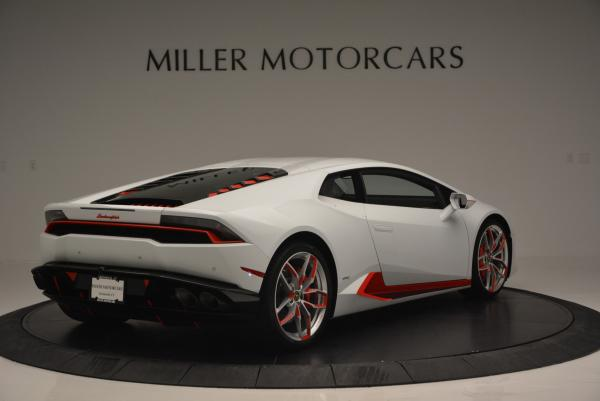Used 2015 Lamborghini Huracan LP610-4 for sale Sold at Rolls-Royce Motor Cars Greenwich in Greenwich CT 06830 10