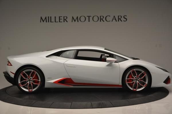 Used 2015 Lamborghini Huracan LP610-4 for sale Sold at Rolls-Royce Motor Cars Greenwich in Greenwich CT 06830 11