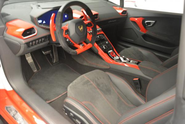 Used 2015 Lamborghini Huracan LP610-4 for sale Sold at Rolls-Royce Motor Cars Greenwich in Greenwich CT 06830 14