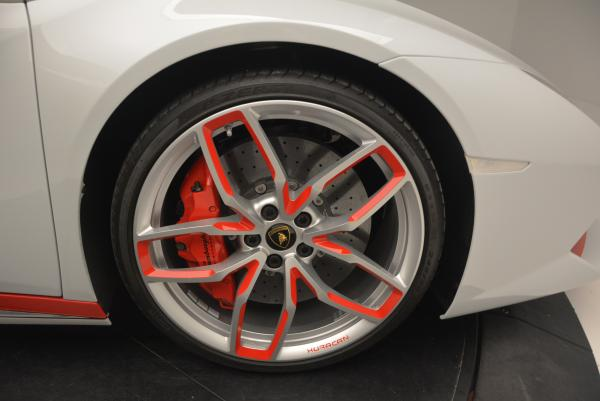 Used 2015 Lamborghini Huracan LP610-4 for sale Sold at Rolls-Royce Motor Cars Greenwich in Greenwich CT 06830 21