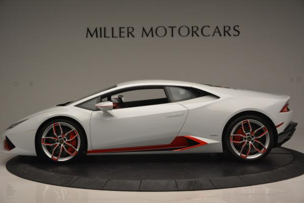 Used 2015 Lamborghini Huracan LP610-4 for sale Sold at Rolls-Royce Motor Cars Greenwich in Greenwich CT 06830 3