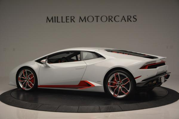 Used 2015 Lamborghini Huracan LP610-4 for sale Sold at Rolls-Royce Motor Cars Greenwich in Greenwich CT 06830 4