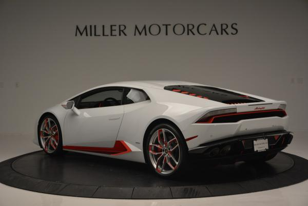 Used 2015 Lamborghini Huracan LP610-4 for sale Sold at Rolls-Royce Motor Cars Greenwich in Greenwich CT 06830 5