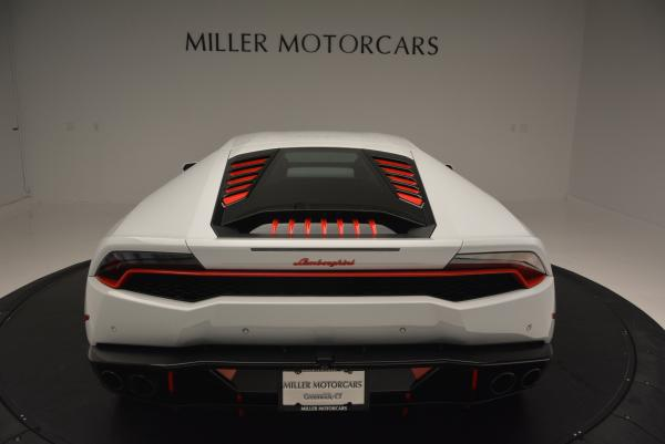 Used 2015 Lamborghini Huracan LP610-4 for sale Sold at Rolls-Royce Motor Cars Greenwich in Greenwich CT 06830 7