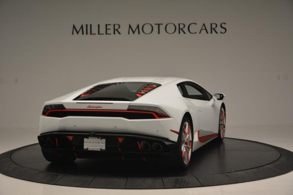 Used 2015 Lamborghini Huracan LP610-4 for sale Sold at Rolls-Royce Motor Cars Greenwich in Greenwich CT 06830 9