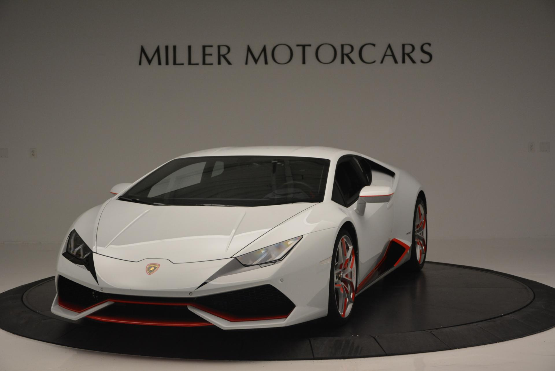 Used 2015 Lamborghini Huracan LP610-4 for sale Sold at Rolls-Royce Motor Cars Greenwich in Greenwich CT 06830 1