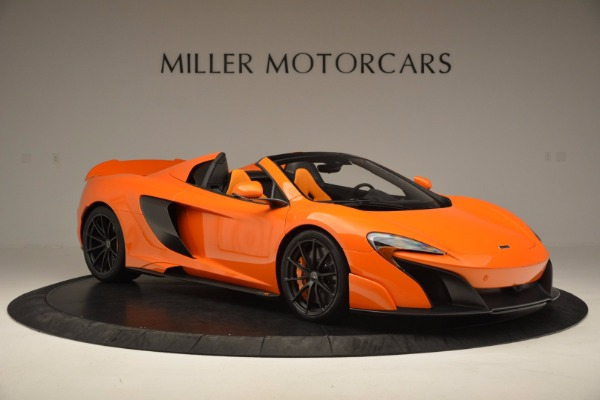 Used 2016 McLaren 675LT Spider Convertible for sale Sold at Rolls-Royce Motor Cars Greenwich in Greenwich CT 06830 10