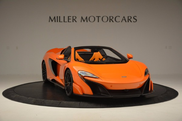 Used 2016 McLaren 675LT Spider Convertible for sale Sold at Rolls-Royce Motor Cars Greenwich in Greenwich CT 06830 11