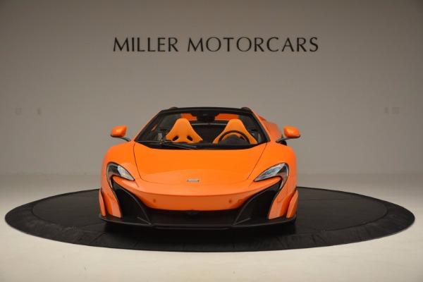 Used 2016 McLaren 675LT Spider Convertible for sale Sold at Rolls-Royce Motor Cars Greenwich in Greenwich CT 06830 12