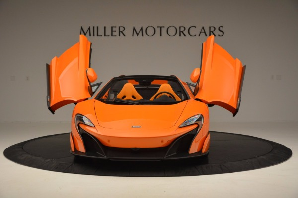 Used 2016 McLaren 675LT Spider Convertible for sale Sold at Rolls-Royce Motor Cars Greenwich in Greenwich CT 06830 13