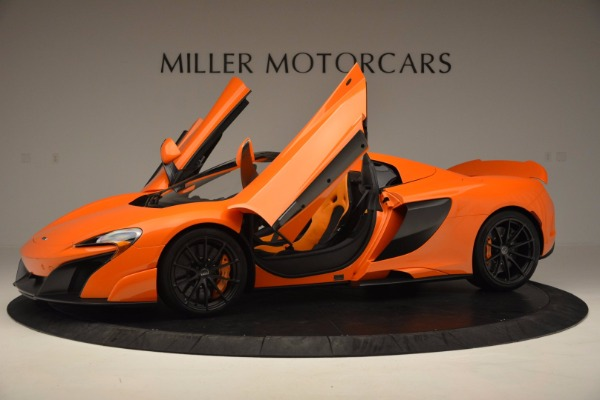 Used 2016 McLaren 675LT Spider Convertible for sale Sold at Rolls-Royce Motor Cars Greenwich in Greenwich CT 06830 14