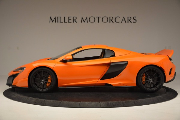 Used 2016 McLaren 675LT Spider Convertible for sale Sold at Rolls-Royce Motor Cars Greenwich in Greenwich CT 06830 15