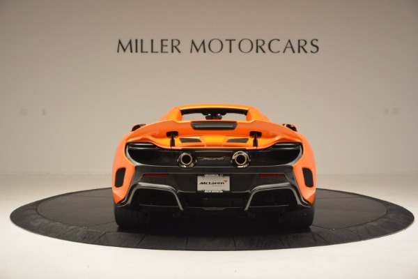 Used 2016 McLaren 675LT Spider Convertible for sale Sold at Rolls-Royce Motor Cars Greenwich in Greenwich CT 06830 17