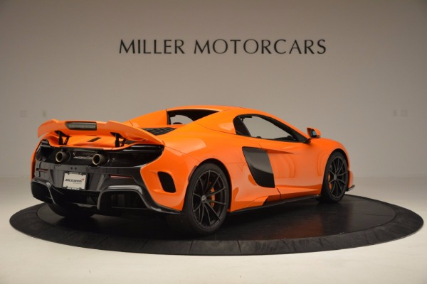 Used 2016 McLaren 675LT Spider Convertible for sale Sold at Rolls-Royce Motor Cars Greenwich in Greenwich CT 06830 18