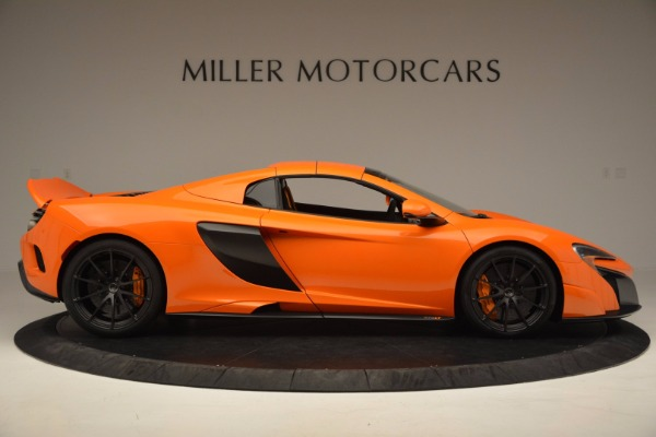 Used 2016 McLaren 675LT Spider Convertible for sale Sold at Rolls-Royce Motor Cars Greenwich in Greenwich CT 06830 19