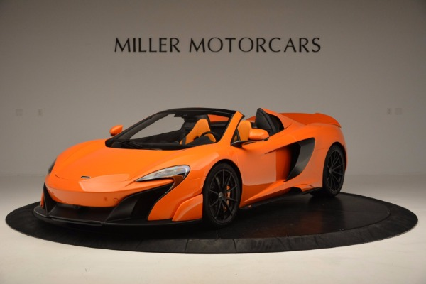 Used 2016 McLaren 675LT Spider Convertible for sale Sold at Rolls-Royce Motor Cars Greenwich in Greenwich CT 06830 2