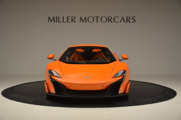 Used 2016 McLaren 675LT Spider Convertible for sale Sold at Rolls-Royce Motor Cars Greenwich in Greenwich CT 06830 21