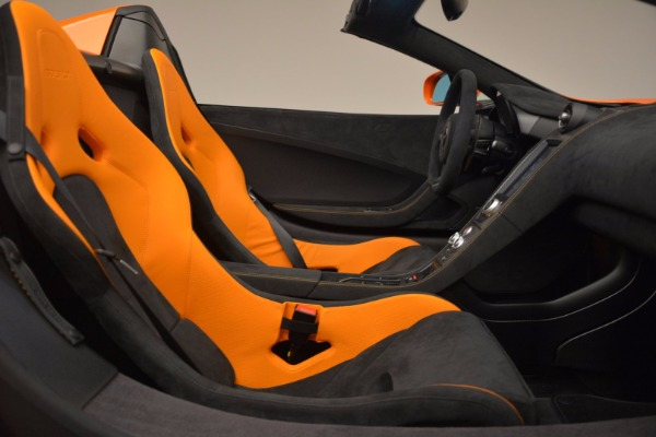 Used 2016 McLaren 675LT Spider Convertible for sale Sold at Rolls-Royce Motor Cars Greenwich in Greenwich CT 06830 26