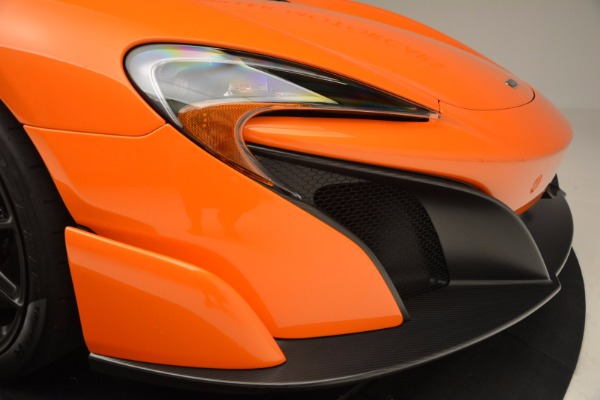 Used 2016 McLaren 675LT Spider Convertible for sale Sold at Rolls-Royce Motor Cars Greenwich in Greenwich CT 06830 28