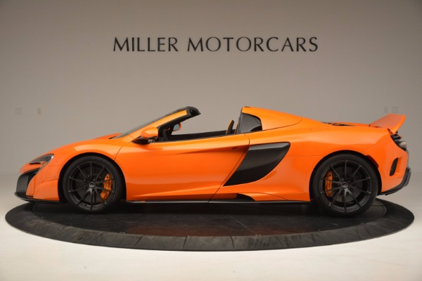Used 2016 McLaren 675LT Spider Convertible for sale Sold at Rolls-Royce Motor Cars Greenwich in Greenwich CT 06830 3