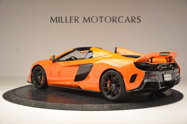 Used 2016 McLaren 675LT Spider Convertible for sale Sold at Rolls-Royce Motor Cars Greenwich in Greenwich CT 06830 4